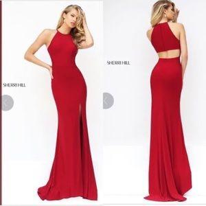 Sherri Hill Dresses - Sherri Hill Long Sleeveless Dress with Open Back